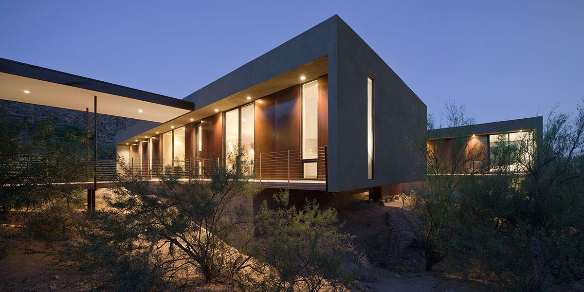 Levin Residence Stunning Desert House In Marana, Arizona