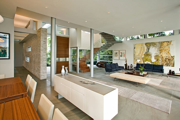 Living Room Design Florida House