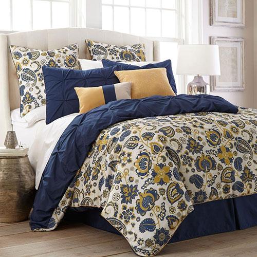 Lorna Paisley 8 Piece Comforter Set