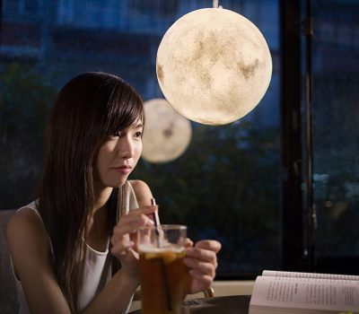 Luna Lamp- Moon lantern that brings romance into your living room