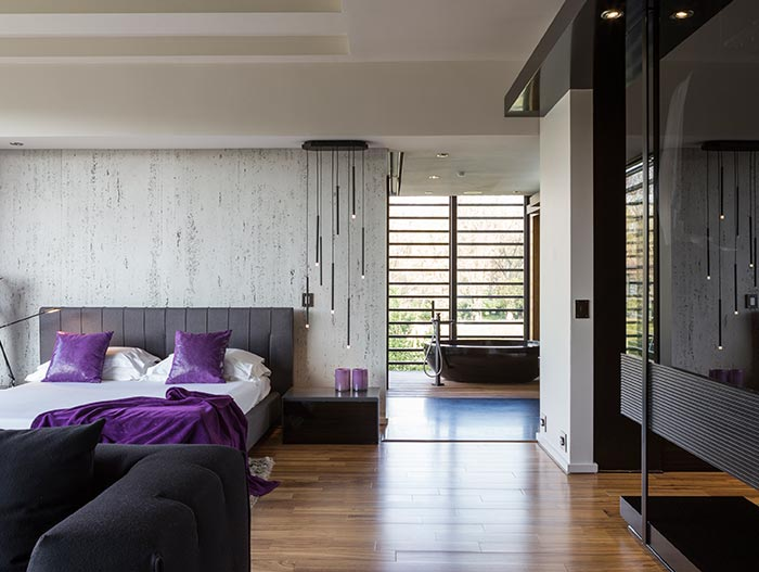 Luxurious Bedroom With Private Lounge And Walk-In Dressing Room