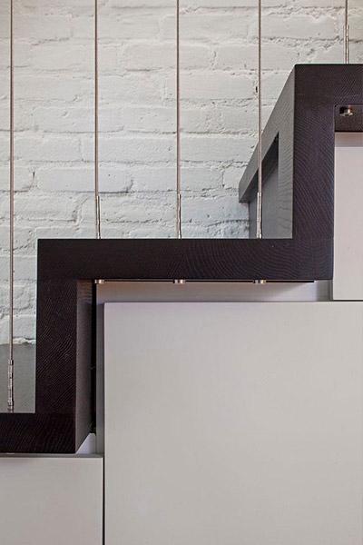 Manhattan Micro Loft - Modern Staircase