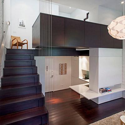 Manhattan Micro Loft Transformation By Specht Harpman Architects