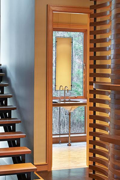 Mazama House by Finne Architects Bathroom