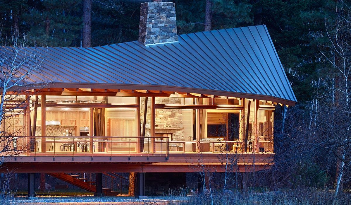 Mazama Sustainable House In Methow Valley