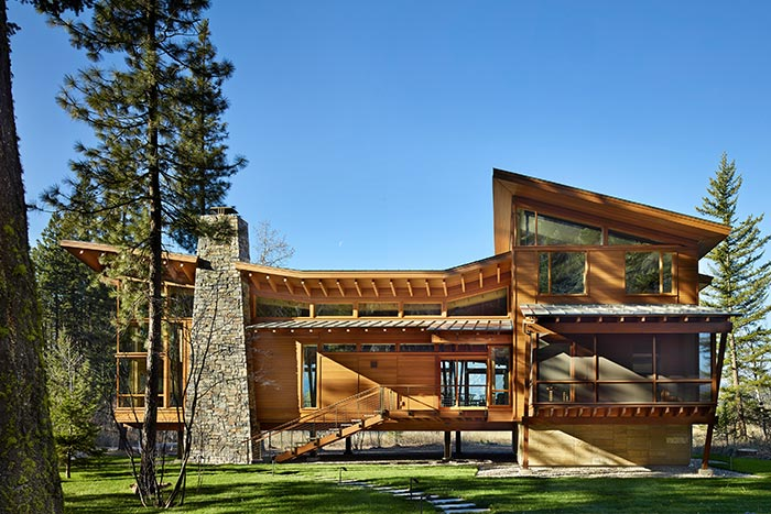Mazama: Sustainable House Located In The Methow Valley Of Washington State
