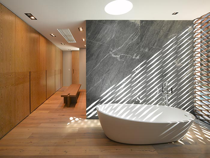 Modern Bathroom Design In Mexico City