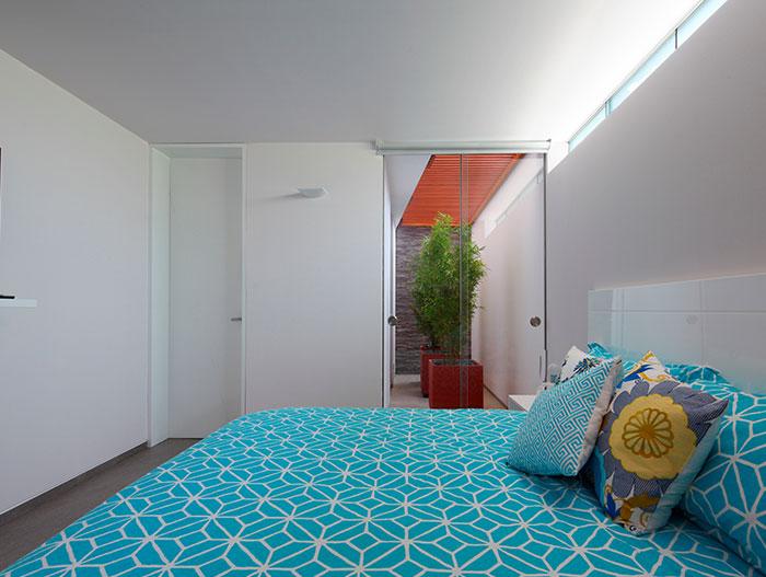 Modern Bedroom Blue Bedding