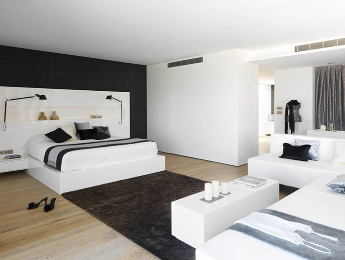 Modern Bedroom Design In Granada Spain By Susanna Cots