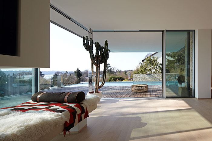 Modern Living Area Near Lake Starnberg Germany