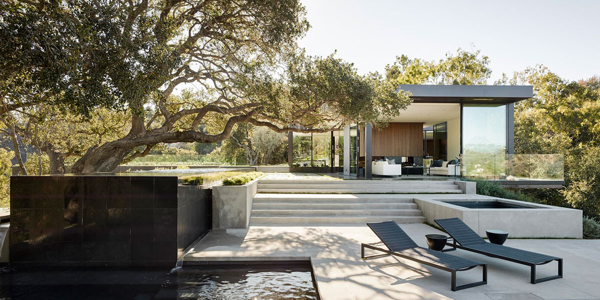 Contemporary Beverly Hills House With Infinity Pool By Walker Workshop
