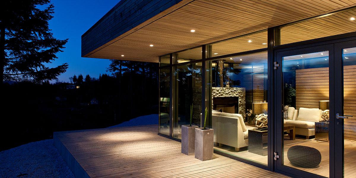 Modern Cabin In Norway