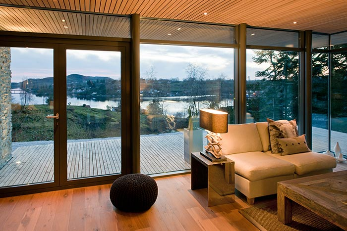 Modern Cabin With Spectacular View In Norway