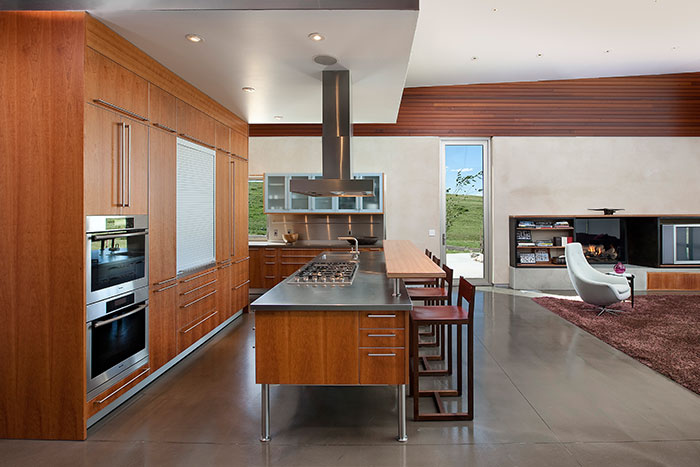 Modern Kitchen Design In A Small Town In Wyoming