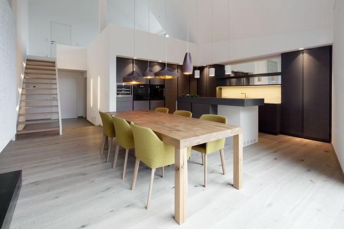 Modern Kitchen In A Stunning Apartment