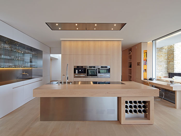 Modern Kitchen In A Stunning House Located In Germany