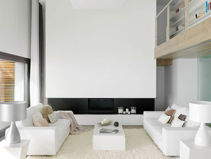 Modern Living Room Design In Spain