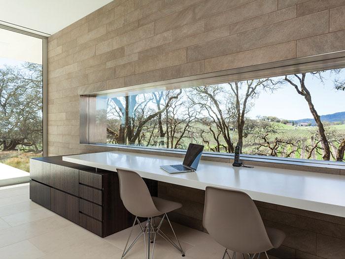 Modern White Desk Home Office