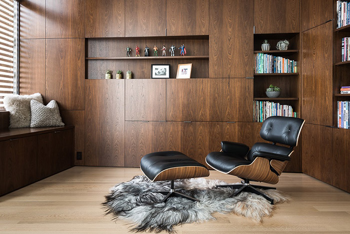 Modern reading room