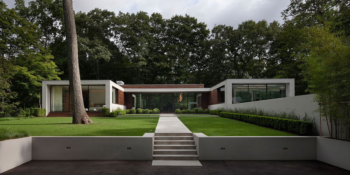 New Canaan Residence by Specht Harpman Contemporary House
