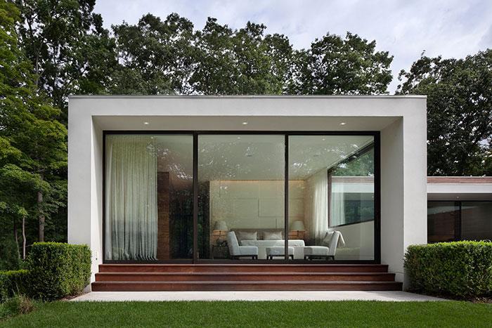 New Canaan Residence by Specht Harpman Glass Doors