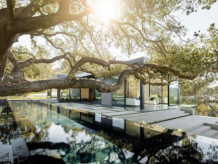 Oak Pass Residence Beautiful House By Walker Workshop
