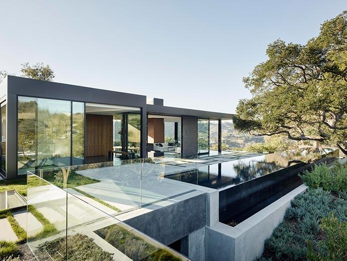 Oak Pass Residence Modern House By Walker Workshop