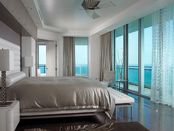 One Bal Harbor Residence Oceanfront Bedroom Design