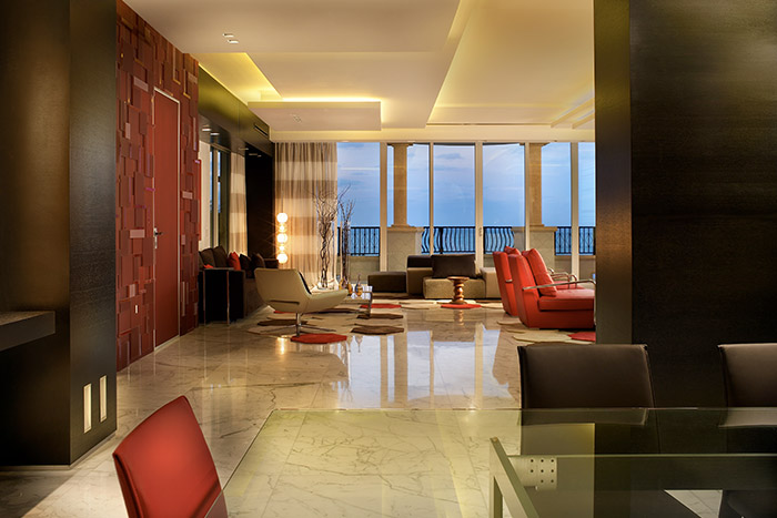 Palazzo Del Mare Modern Dining Room By Pepe Calderin Design