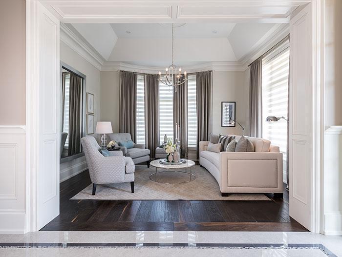Peyton Home Traditional Living Room Design