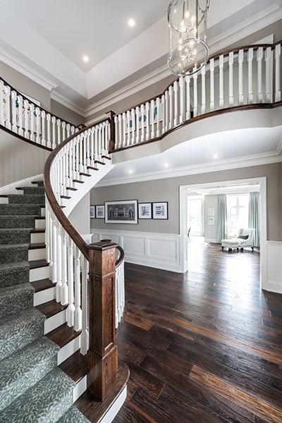 Peyton Model House Staircase