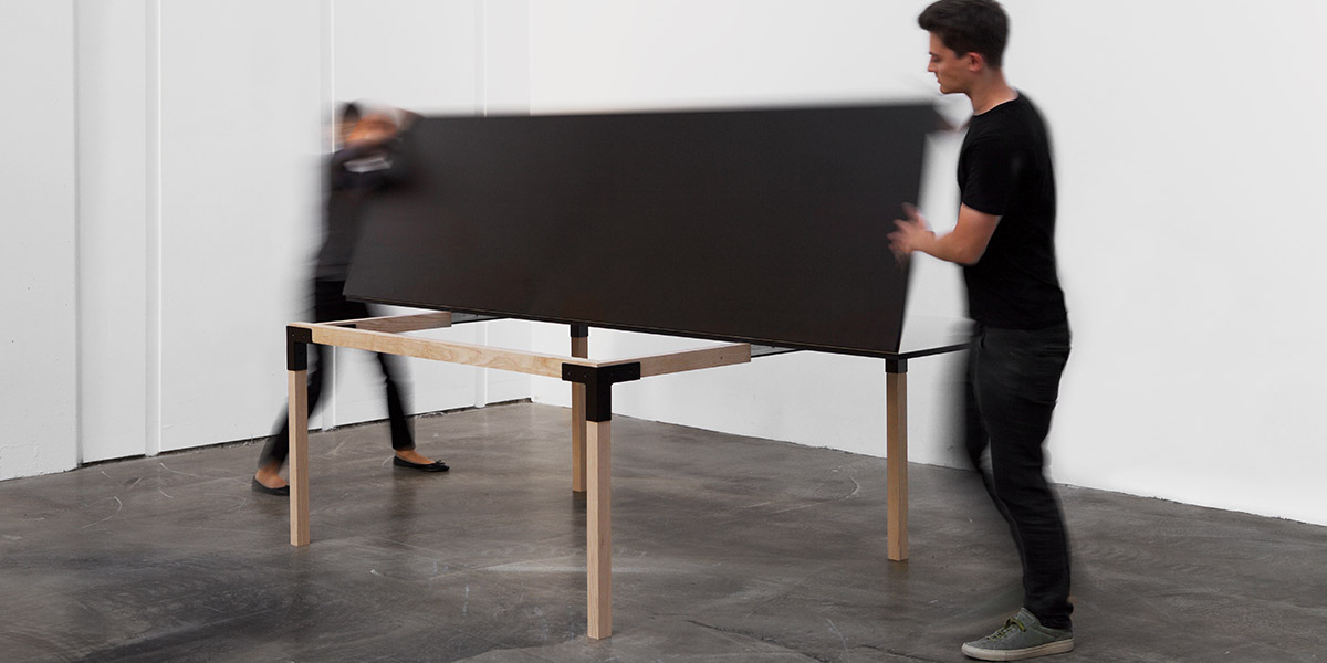 Pull-Pong By MWA Multipurpose Dining Table