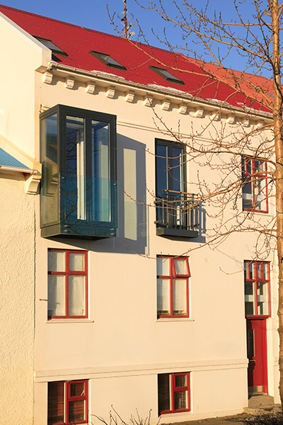 Reykjavik Apartment Complex Exterior