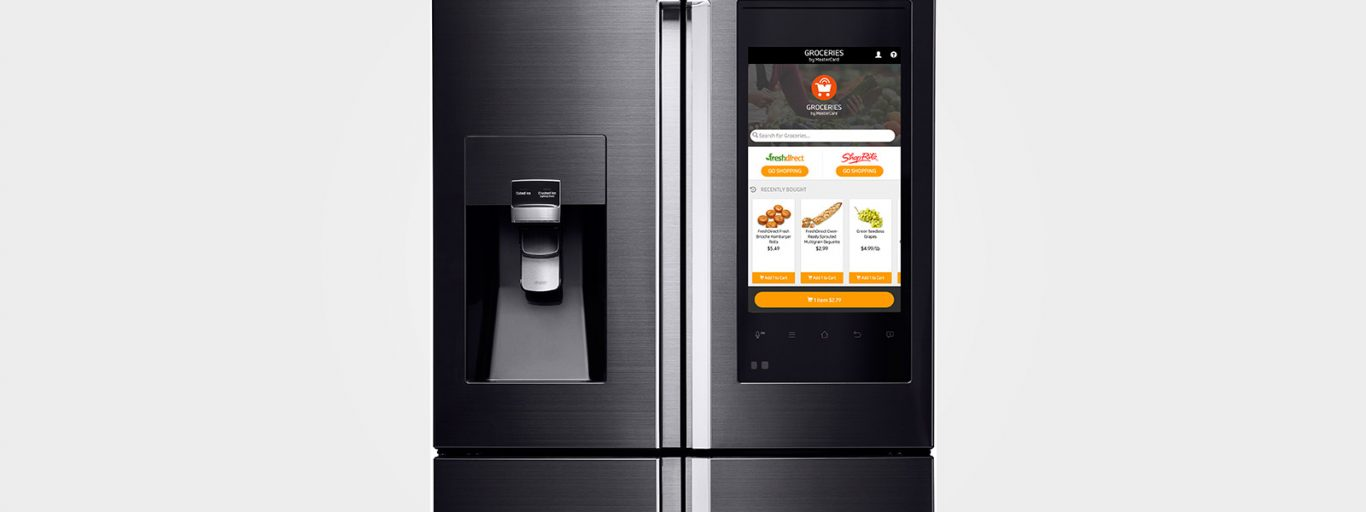 Samsung Family Hub Smart Fridge CES 2016