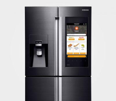 Samsung Family Hub Smart Fridge CES 2016