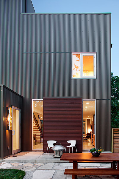 Shepherds Residence - Modern Family Home In Kansas City By Faust Construction