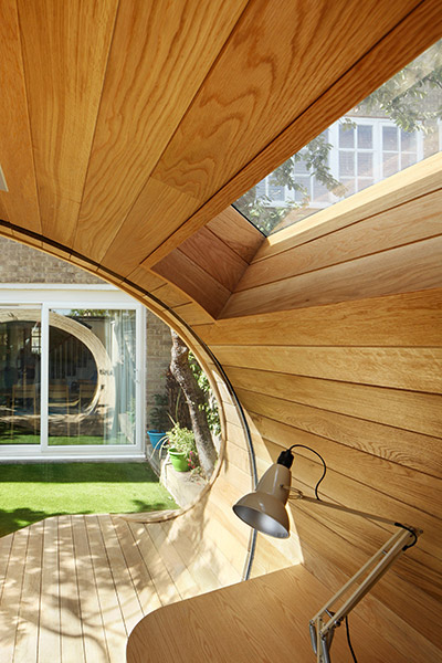 Shoffice Small Home Office In London Platform 5 Architects