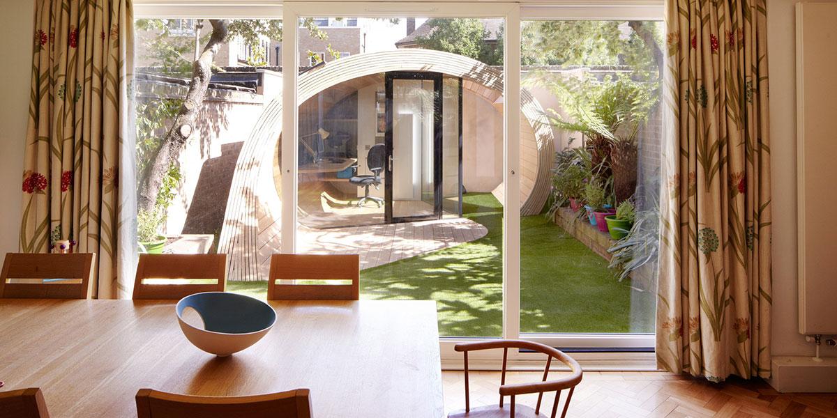 Shoffice Stunning Backyard Home Office In London