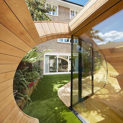 Shoffice Stunning Garden Pavilion In London