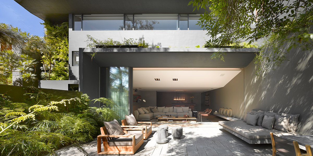 Stunning Contemporary House In Mexico City By Ezequiel Farca