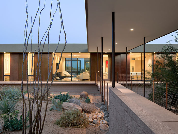 Stunning Desert House In Marana Arizona - Exterior View