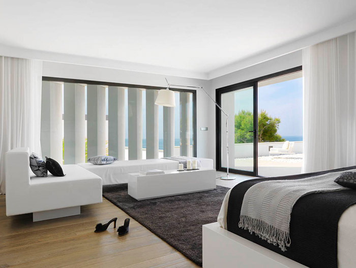 Stylish Bedroom in Granada Spain