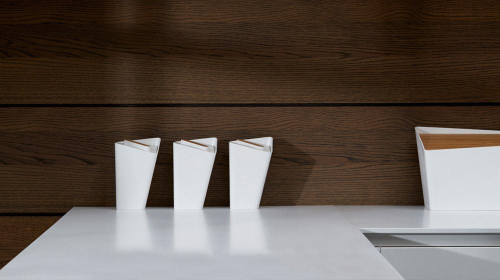 Stylish storage jars for modern kitchen
