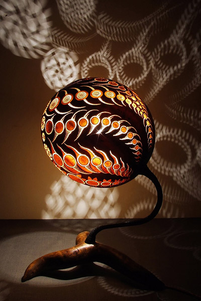 Unique Lamp By Calabarte
