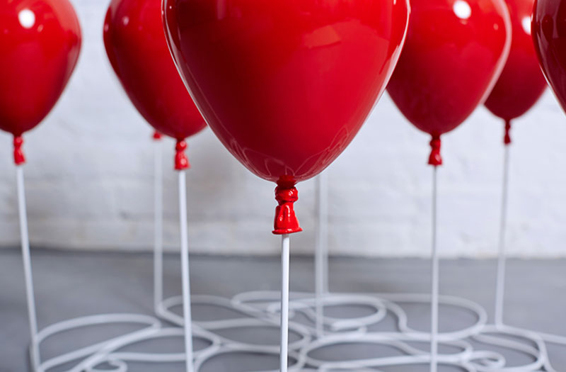 Up Balloon Coffee Table Detailed View