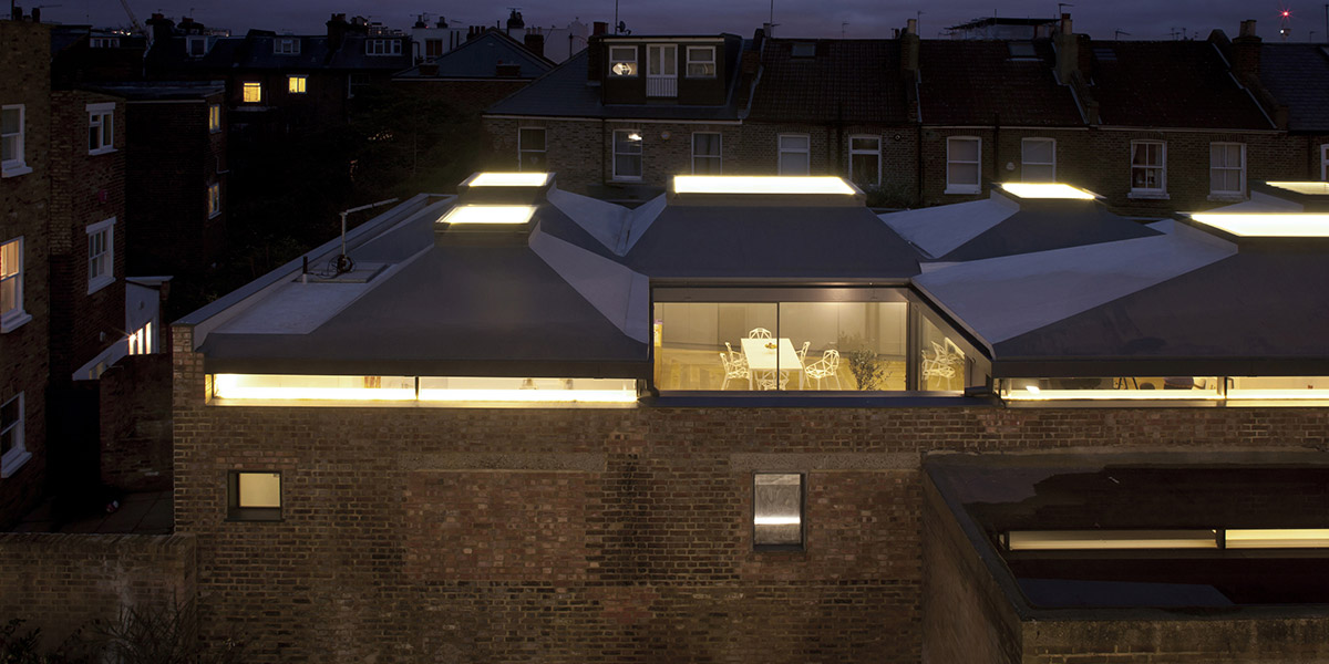 Vaulted House Four Bedroom Family House In London