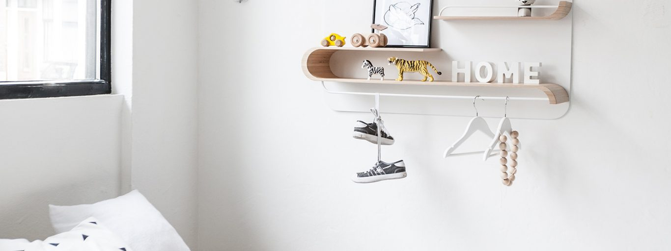 Versatile stylish shelves by Rafa Kids