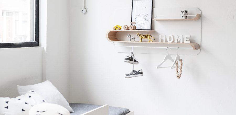 Versatile stylish shelves by Rafa Kids