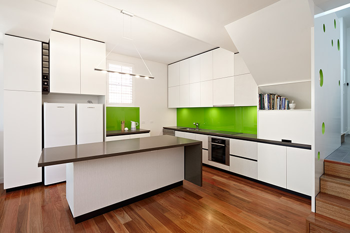 White Modern Kitchen Design