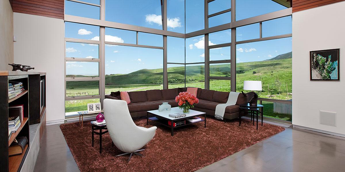 Wyoming Residence Stunning Family Room Design